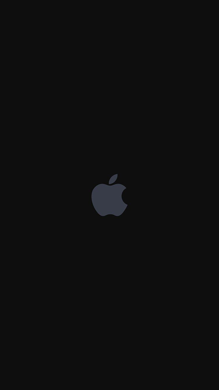 As68 Iphone7 Apple Logo Dark Art Illustration Iphone 7 Plus Wallpaper Black Wallpaper Iphone Dark Apple Wallpaper