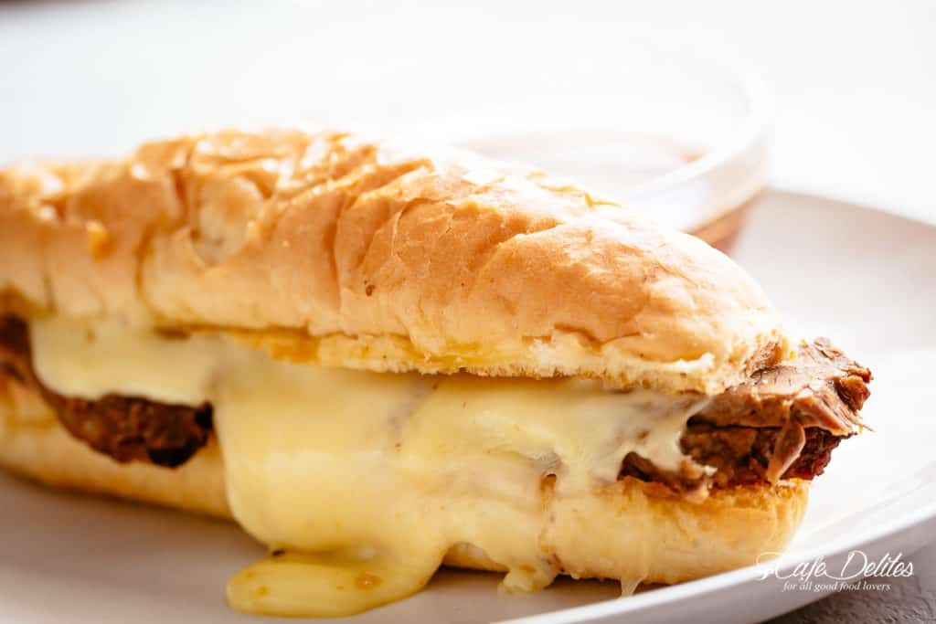 French Dip sandwich #cafedelites #Frenchdipsandwich # ...