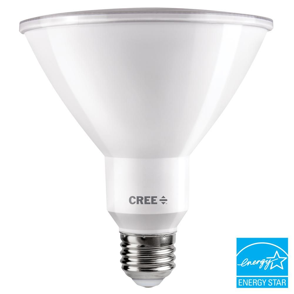 Cree 150w Equivalent Bright White 3000k Par38 Dimmable Exceptional Light Quality Led 40 Degree Flood Light Bulb Tpar38 1803040fh25 12de26 1 11 Led Flood Lights Dimmable Led Lights Bulb