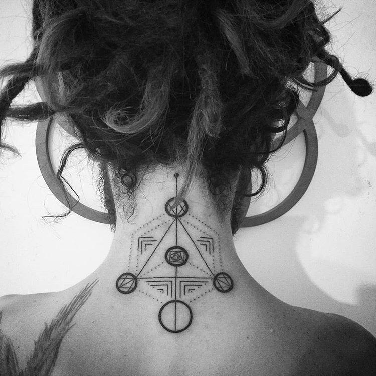 Handpoketattoo Handpoke Tattoobyhand Ritual Fullmoon