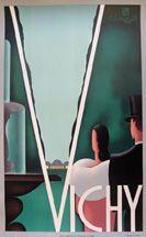 VichyChauffard PLM -poster c.1930: Lucien Sierre, Paris 24 1/2 x 39 1/4 in.
