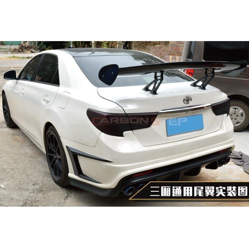 Universal Car Styling Carbon Fiber Rear Trunk Spoiler Gt Wing For Toyota Mark X Reiz Universal Sedan Spoiler Toyota Car Carbon Fiber