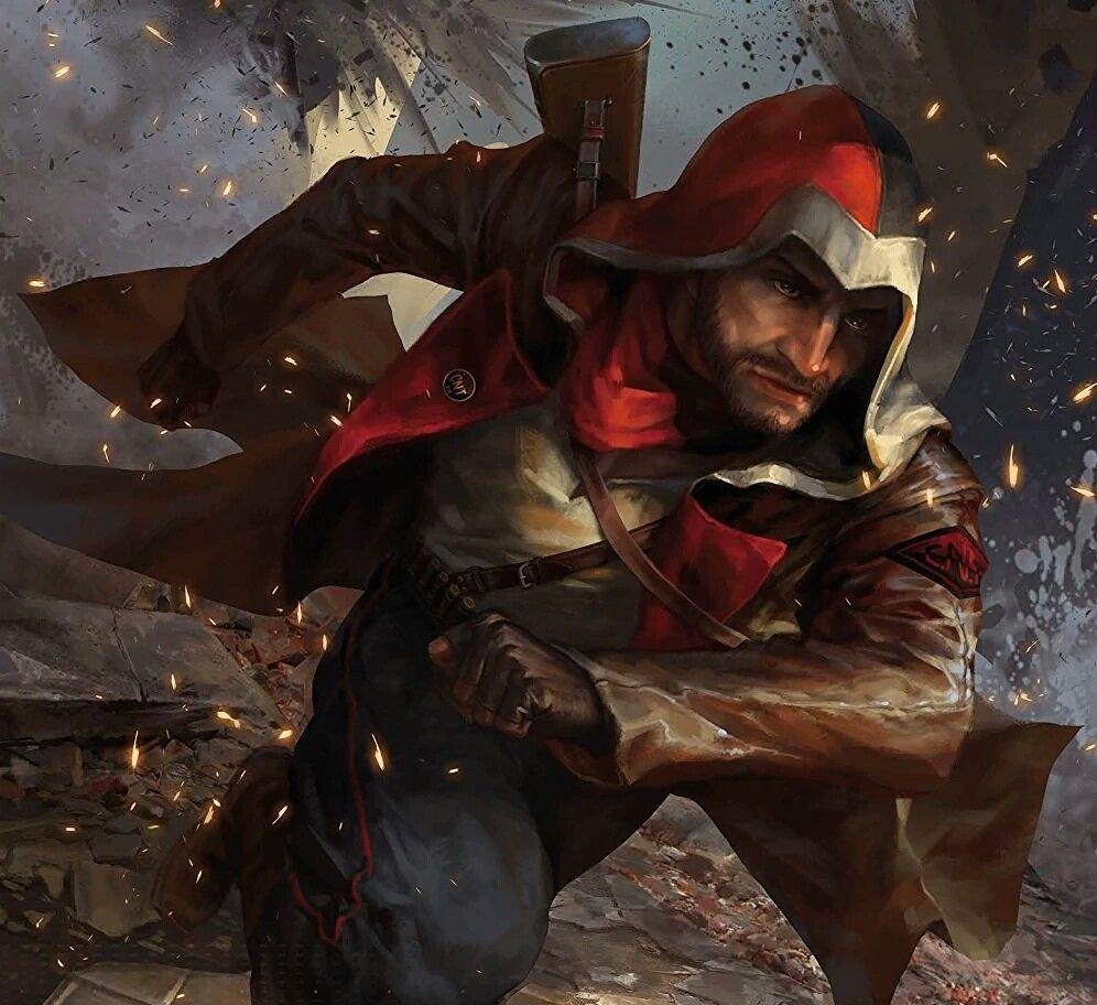 Ignacio Cardona Spanish Civil War Assassin Assassin S Creed Assassins Creed Character Art