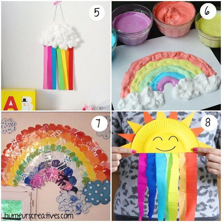 58 bricolages de printemps pour les enfants -