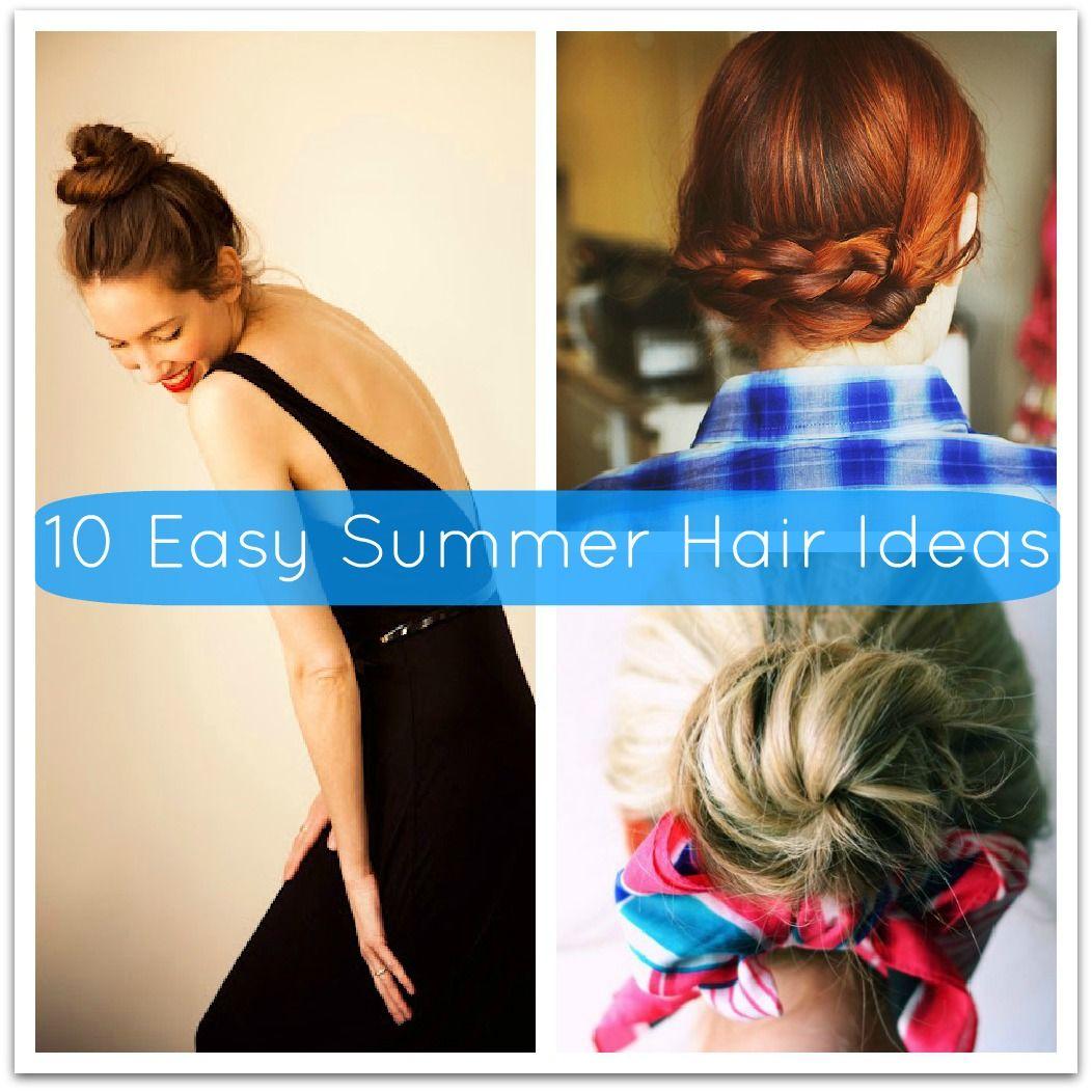 Easy summer hair tutorials love these summer updos hair u nails