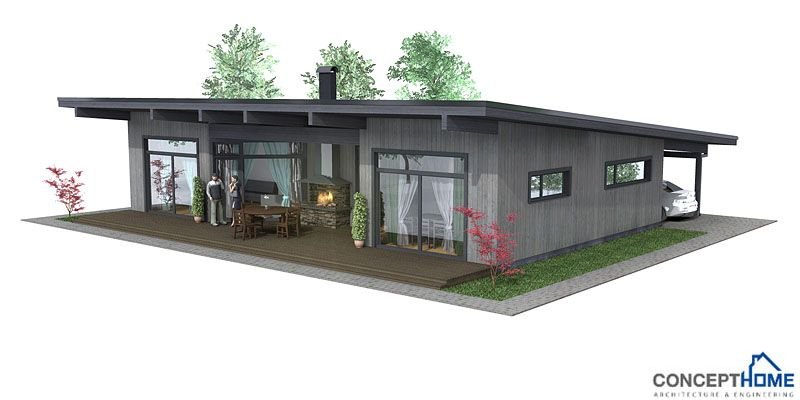 1000 images about Dogtrot on Pinterest Small modern house plans