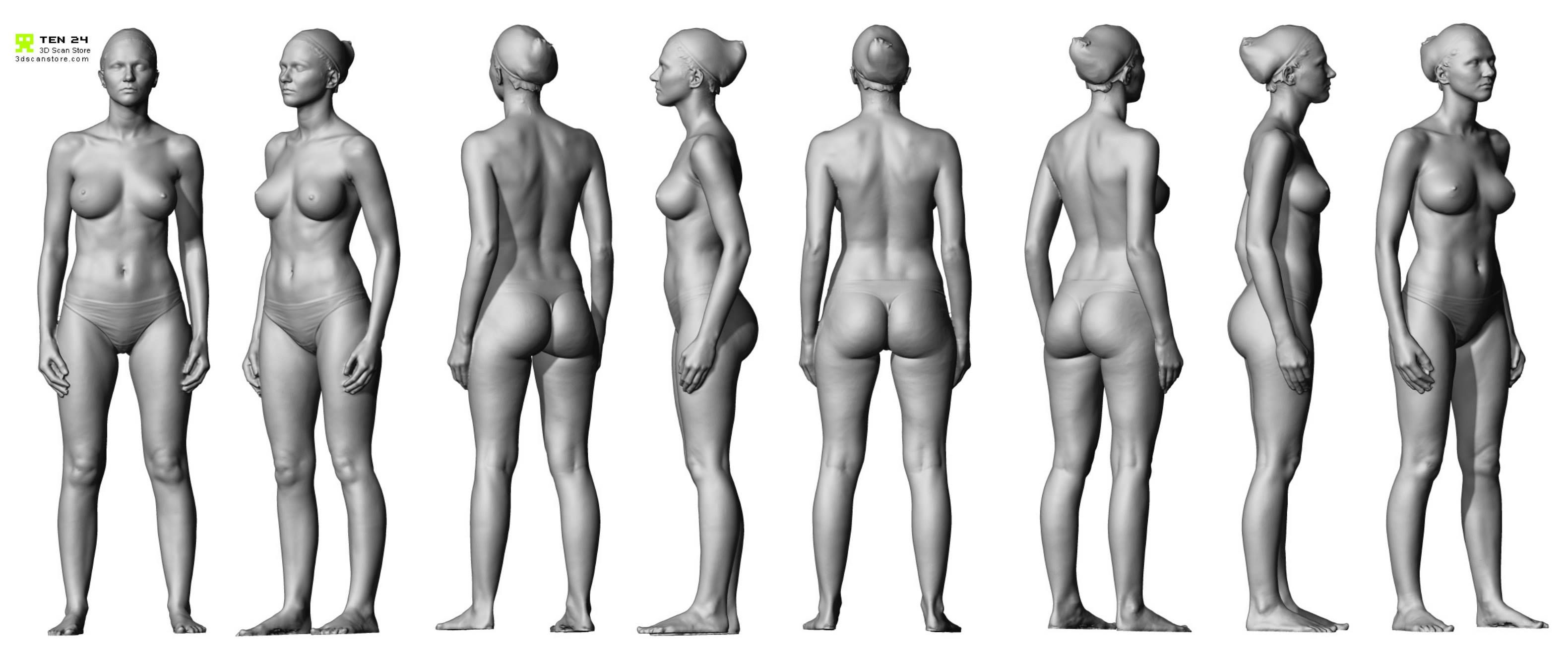 Figure Ref Scan Man Anatomy Drawing Female Body Anatomy For