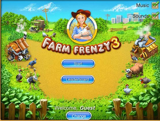 لعبة مزرعة الحيوانات | العاب مغامرات | Farm frenzy, Farm day, Free games