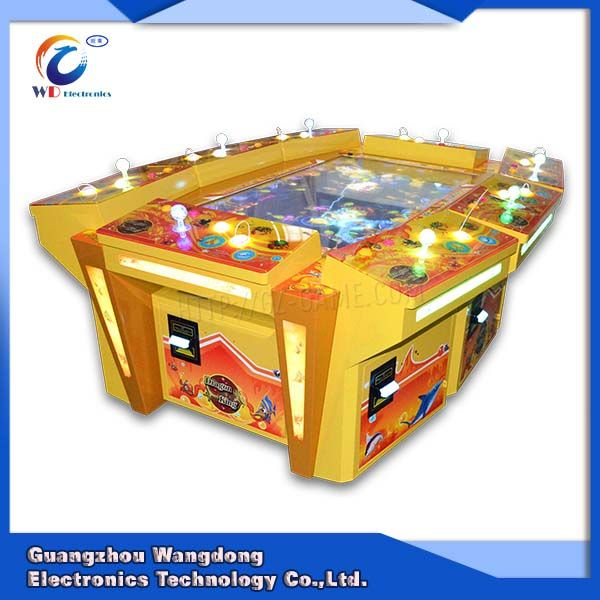 Lovely Lucky Cat Fish Table Game Machine From China