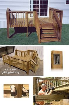 Mobile Home Deck Gallery Home Modular Wood Deck Kits 8 X 12 Modular Deck W Steps Mobile Home Deck Mobile Home Porch Small Modular Homes