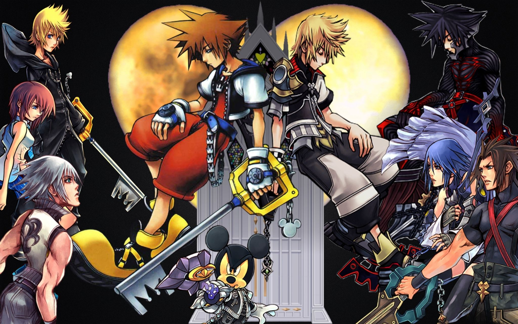 kingdom hearts wallpaper desktop backgrounds