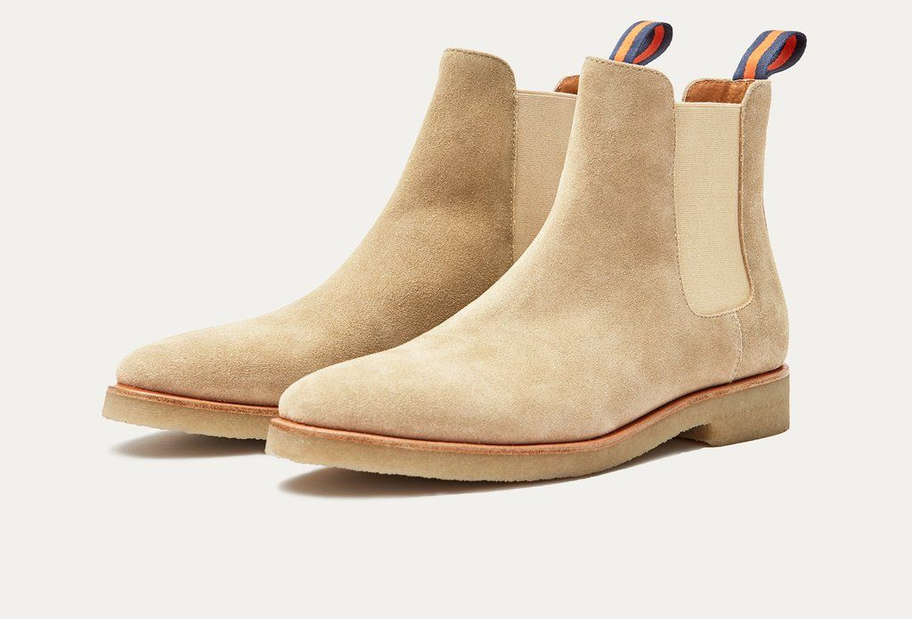 Suede chelsea boots, Mens boots fashion