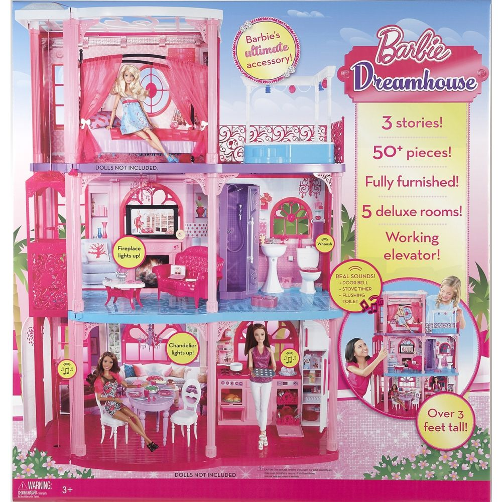 BARBIE® 3 Story DREAMHOUSE® - Shop.Mattel.com-Girls Christmas