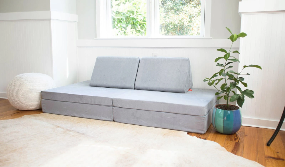 The Nugget - Koala / A calm, cool gray | Kids couch, Home ...