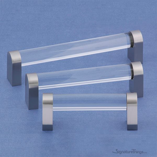 Crystal D Pulls | Glass drawer pulls, Kitchen cabinet hardware and ...