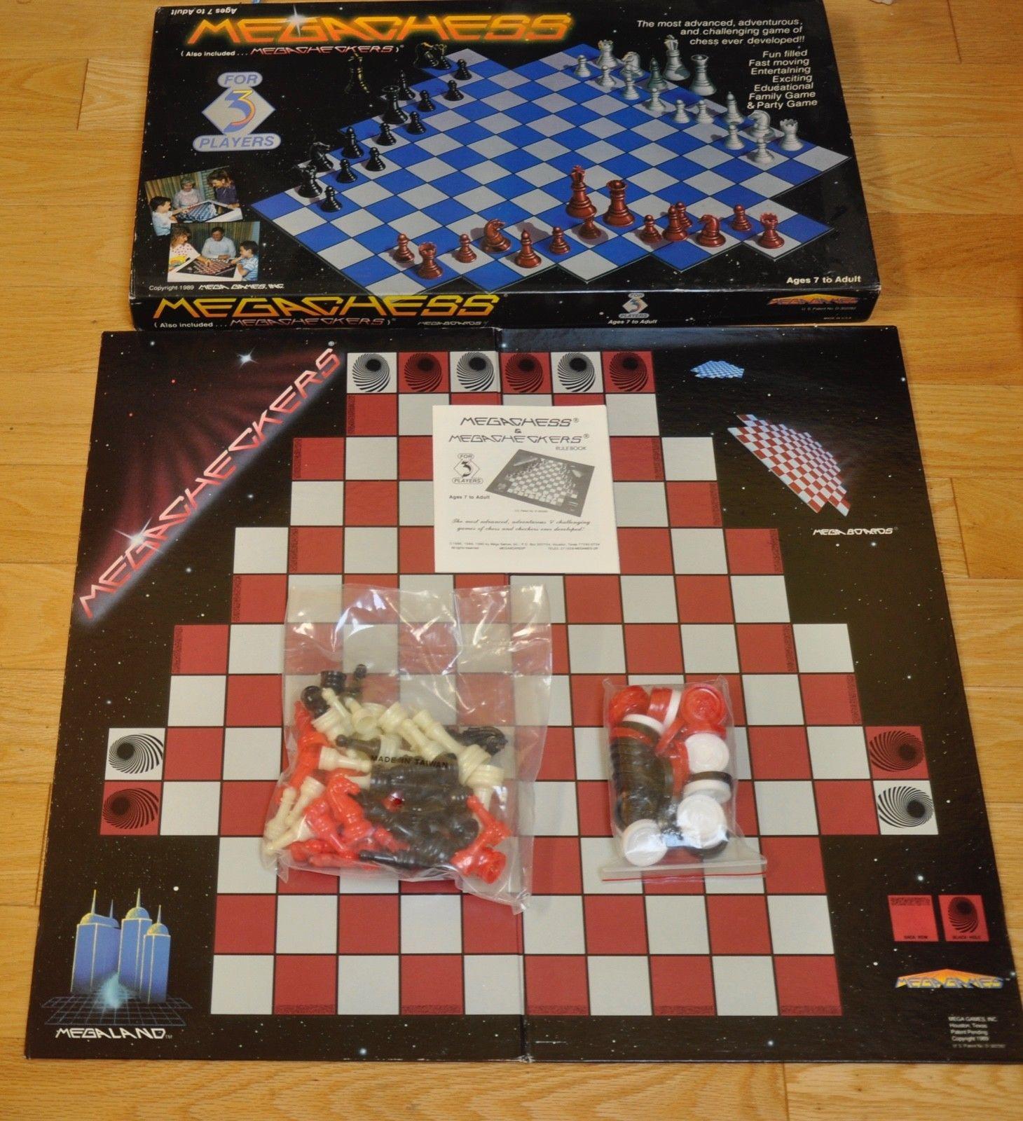 Other Chess 180348 Mega Chess Mega Games Inc 1989 Buy It Now Only 15 On Ebay Other Chess Games Games Chess Ebay