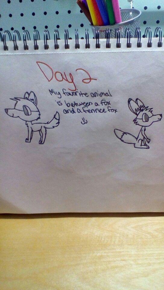 Défi de dessin de 30 jours: Jour 2 @IcyFoxKolorz 💙 - #aicyfoxkolorz #challenge #drawing - #new - #aicyfoxkolorz -