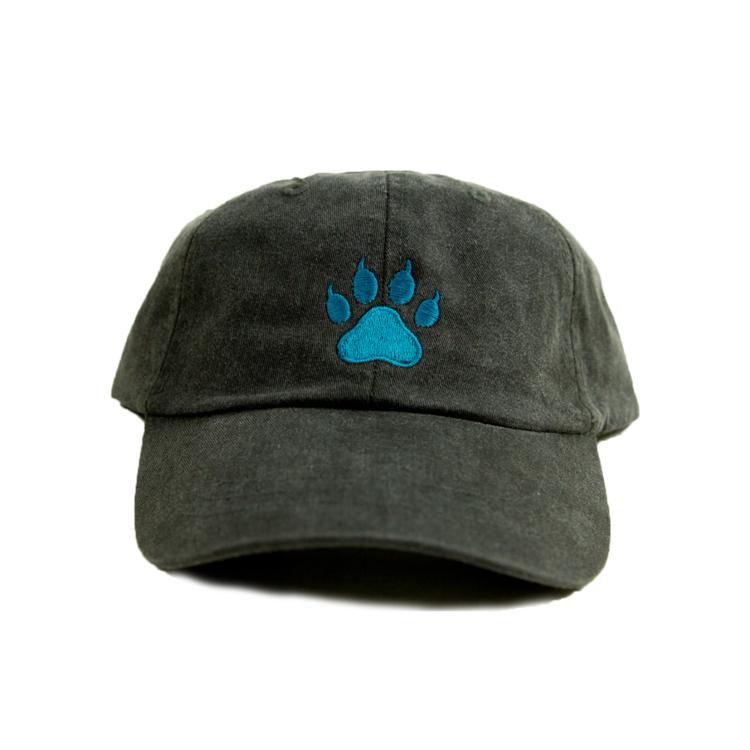 1738dc95b2f Jacksonville Jaguars paw print hat Dad Hats