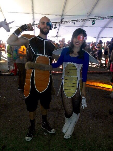#dragonballz #vegeta #nappa #escapefromwonderland
