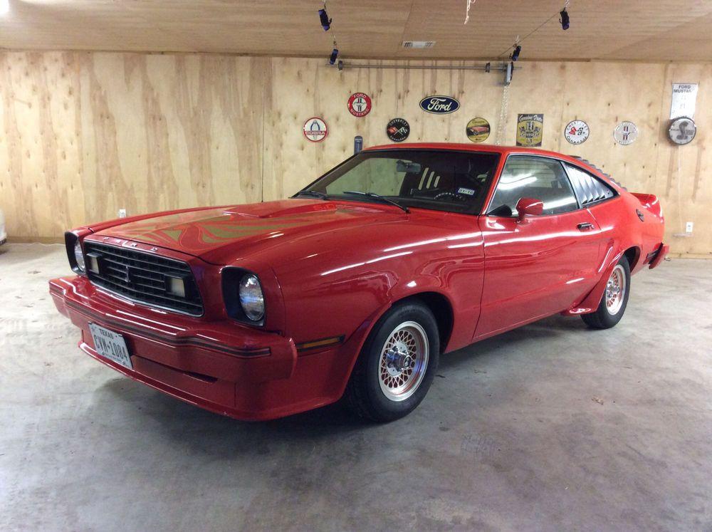1978 Mustang King Cobra For Sale On Ebay