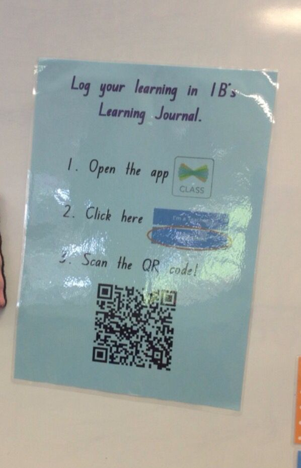 Students log their learning and reflection in the Seesaw