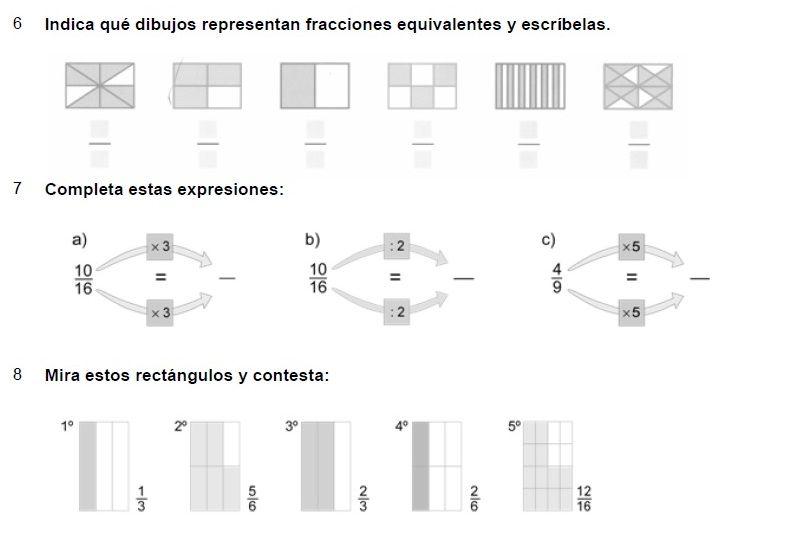 Cuadernos De Problemas Con Fracciones Fracciones Resta De Fracciones Actividades De Fracciones