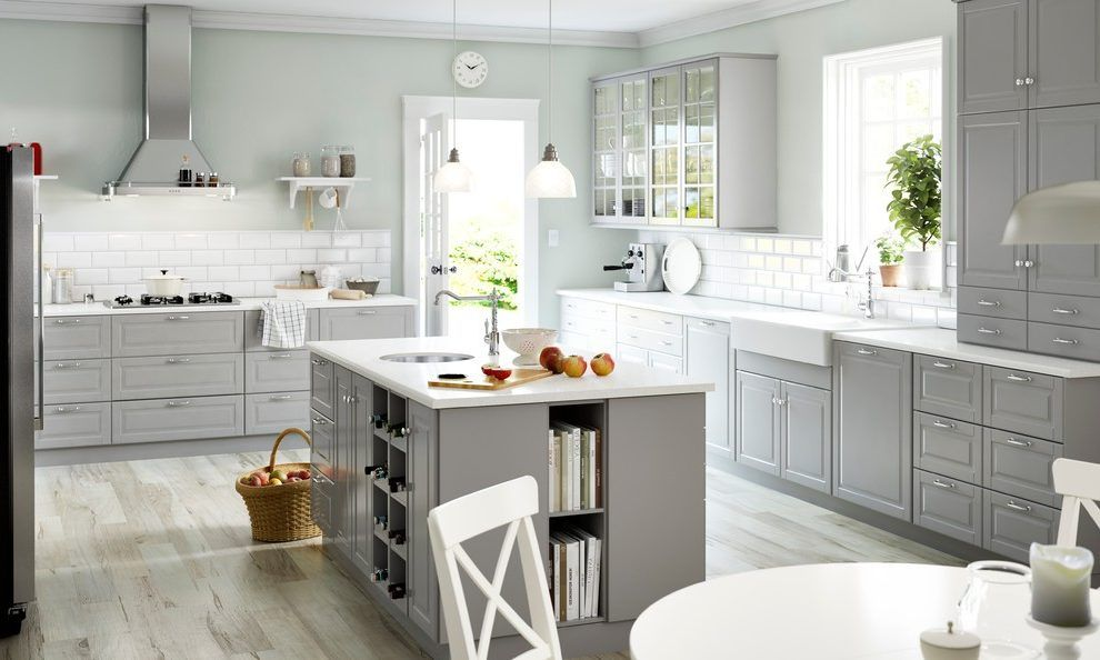 Best Silestone White Storm Kitchen Traditional With Countertop 400 x 300