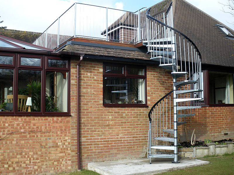 Converting Your Flat Roof To A Stunning Terrace Roof Flat Roof Flat Roof Extension Window Prices