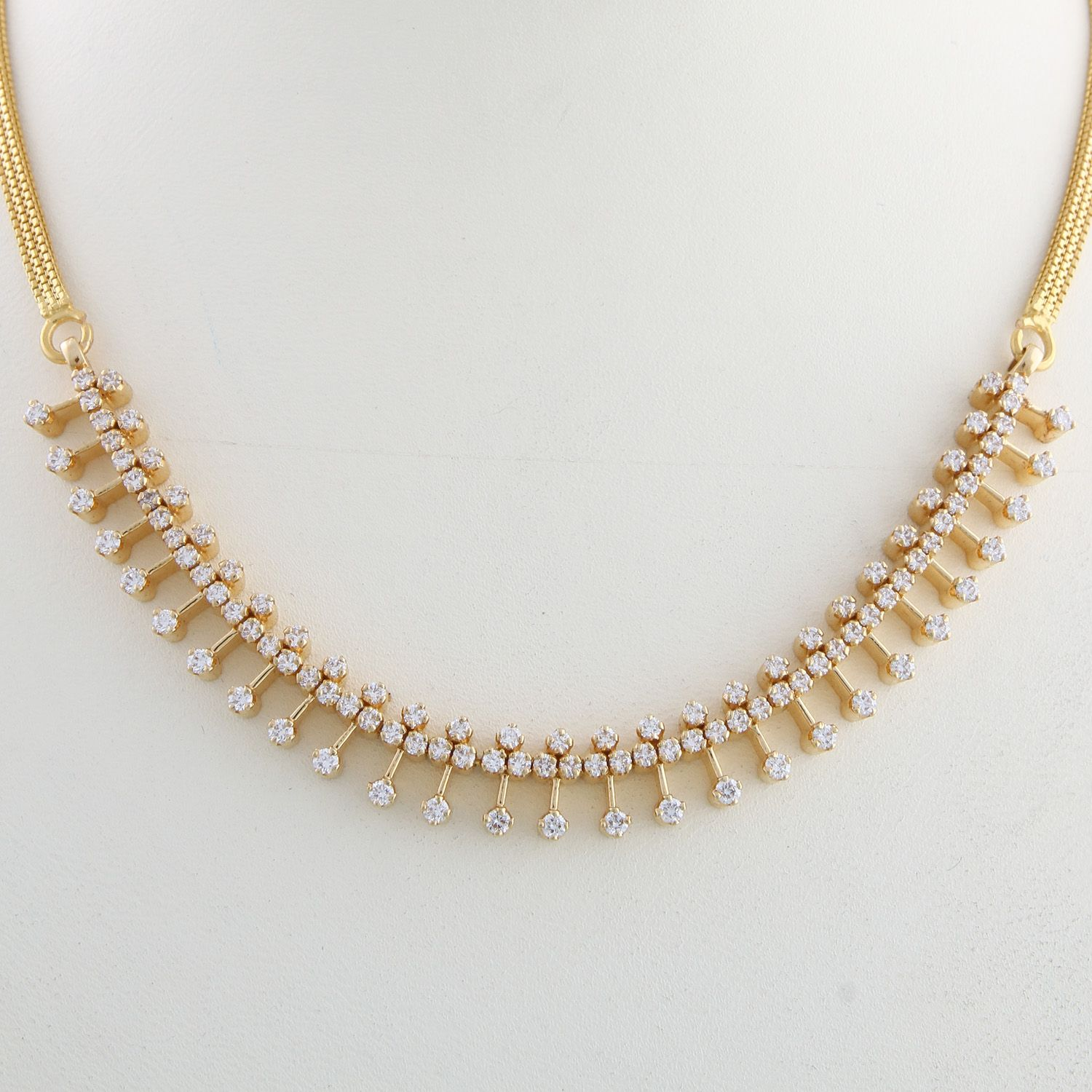 Simple gold necklace kerala the image for Simple gold ornaments