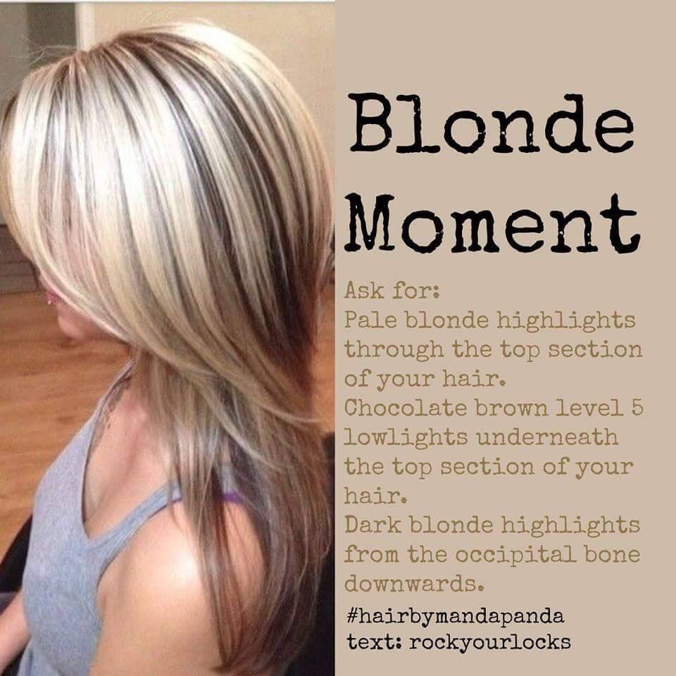 Ideas i saw on facebook for my clients hair colors i like