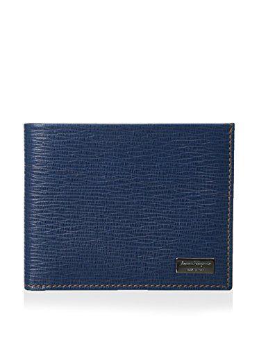 acb1559d61 Salvatore Ferragamo Men's Wallet, Dutch Blue | New Money | Mens ...