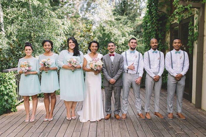 Wedding Party | itakeyou.co.uk #weddingdress