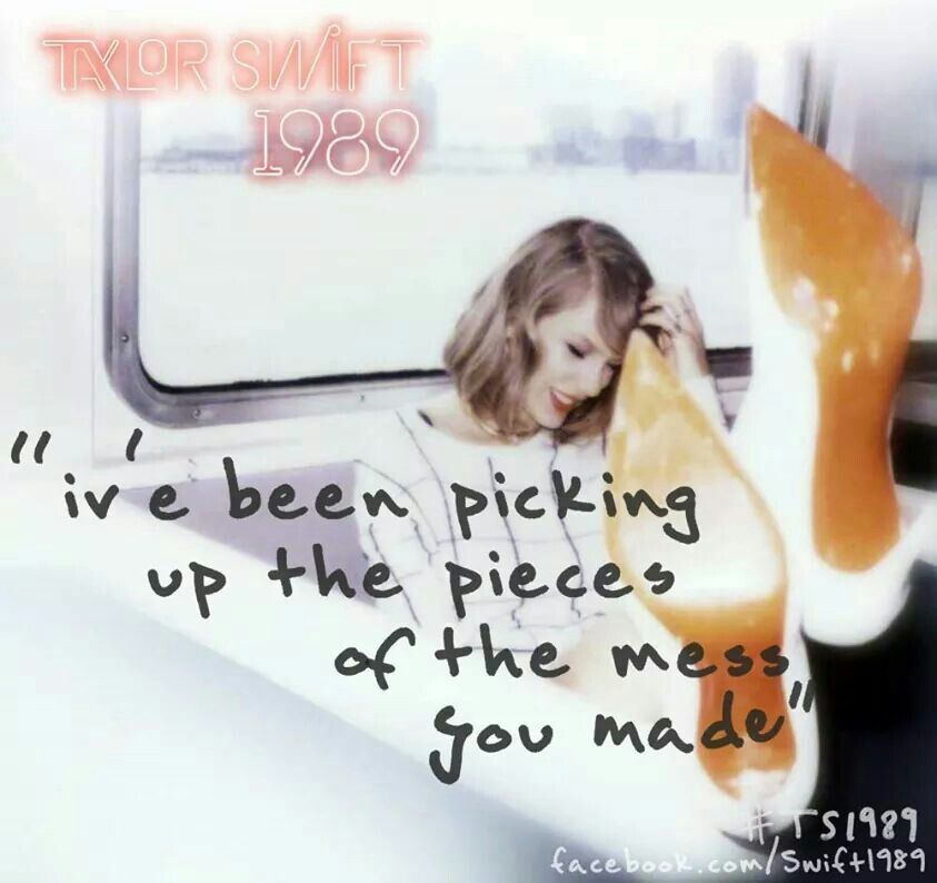 Lyric pick up the pieces lyrics : Challenge #3! Guess the lyrics! All you had to do was stay! | T ...