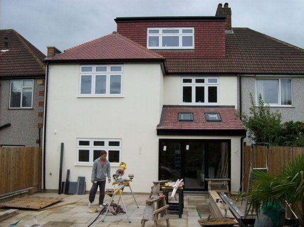 100 2327 Rear 2 Storey Extension Home Sweet Home