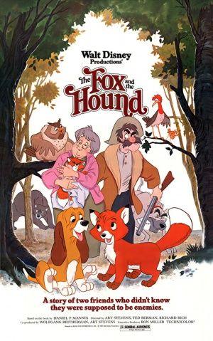 The Fox And Hound 1981 Disney Movie PostersVintage