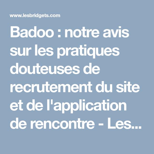Badoo site de rencontres App