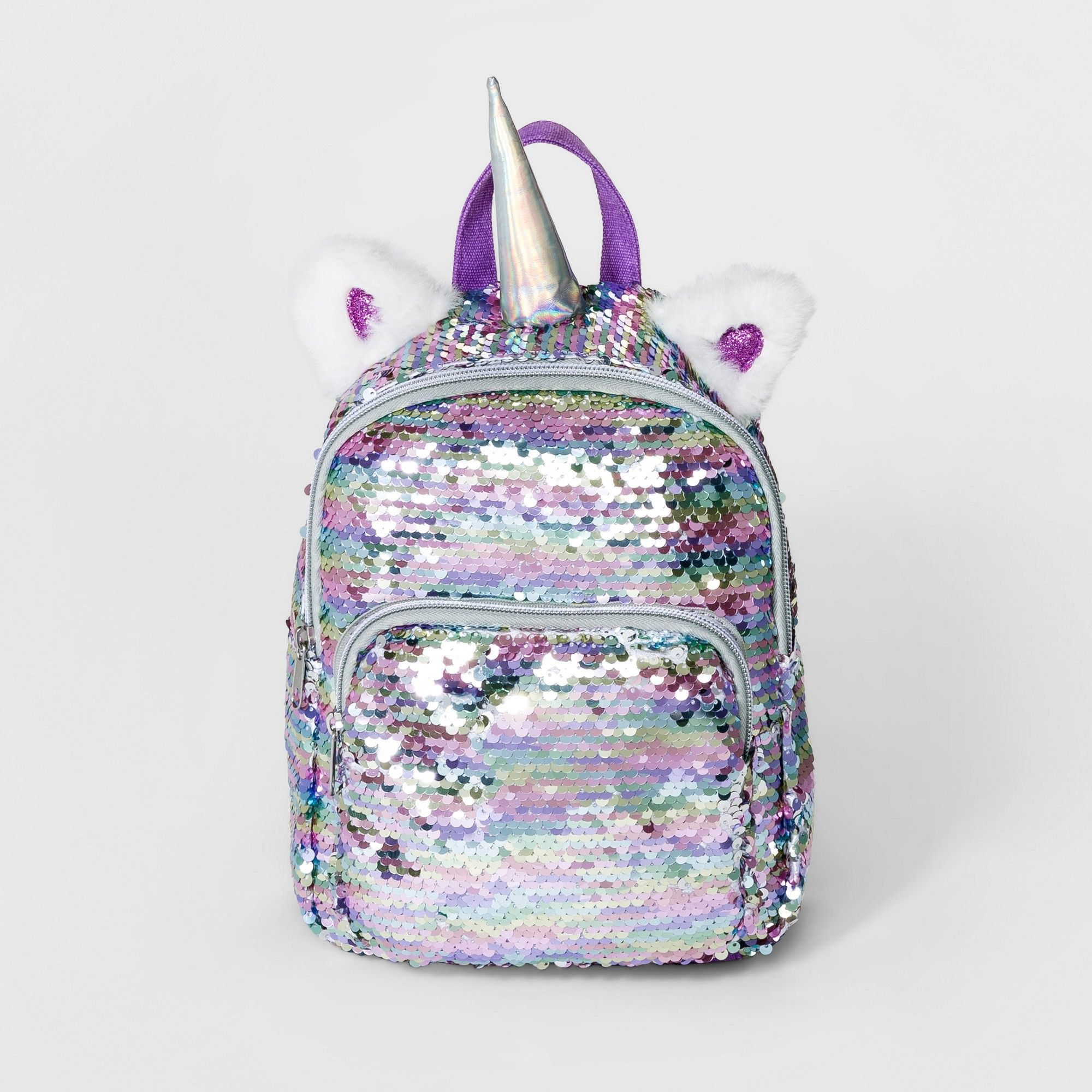5bcb73b8ad Girls  Sequin Unicorn Mini Backpack - Cat   Jack