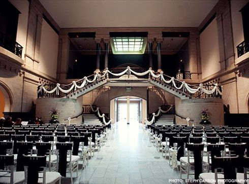 Wedding Ceremony Cincinnati Art Museum Venues Pinterest