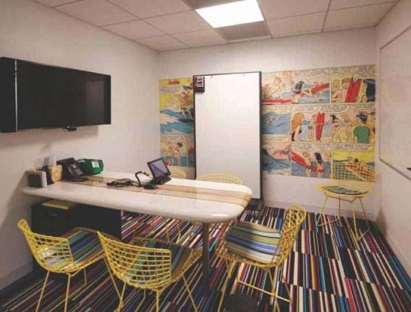 Design Ideas Fun And Functional Take On Video Booths youtube Office Beverly Hills Hq Touch Pinterest Inspire Me Monday Youtube Space Los Angeles Ohsomodern Production