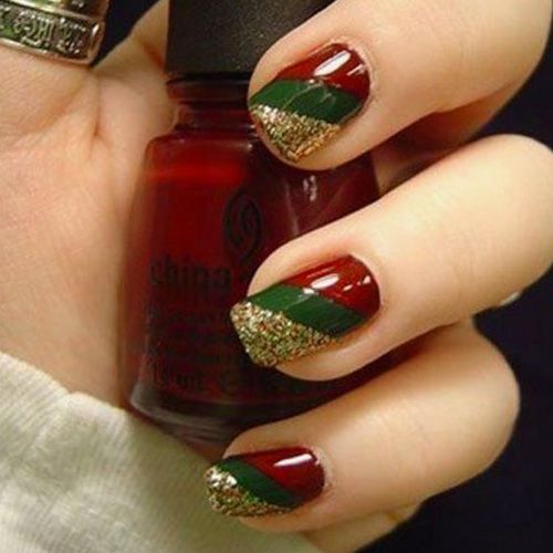 Diy christmas nail art 50 christmas nail designs you can do yourself diy christmas nail art 50 christmas nail designs you can do yourself best solutioingenieria Image collections