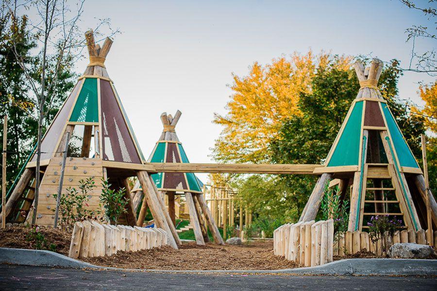 Ottawa Montessori School Playground | Diy playground ...