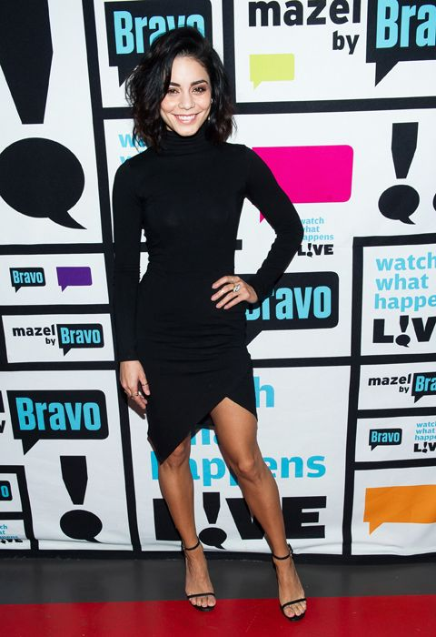 #VanessaHudgens in her #ASOS bodycon polo dress for the premiere of 'Watch What Happens Live' <3