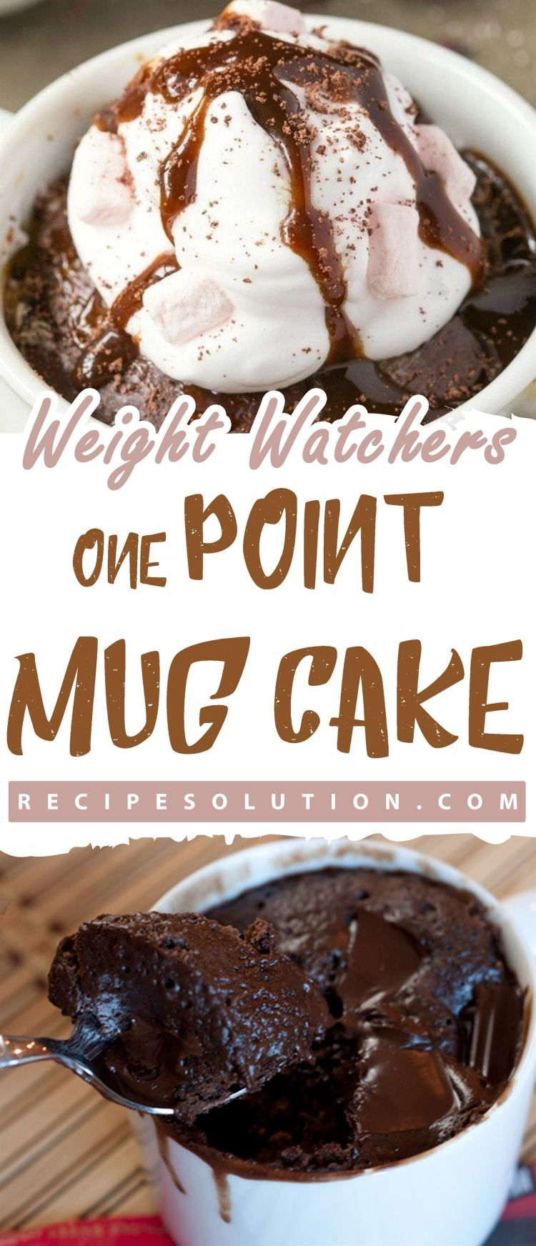 WEIGHT WATCHERS ONE POINT MUG CAKE - Recipe Solution ...