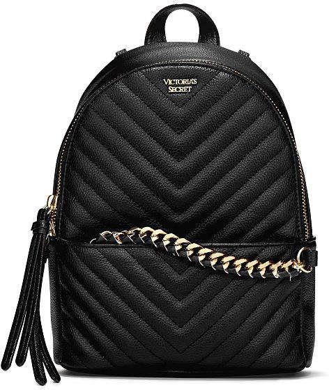 3cbe6deb1ae Victoria s Secret Victorias Secret Pebbled V-Quilt Small City Backpack
