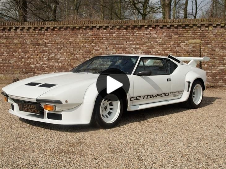 Classic DeTomaso Pantera GT5 (Rare Factory GT5!!) Ex. S… for sale in Nl with Classic & Sports Car