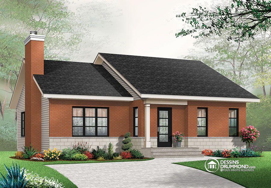Détail du plan de Maison unifamiliale W3147 house plans