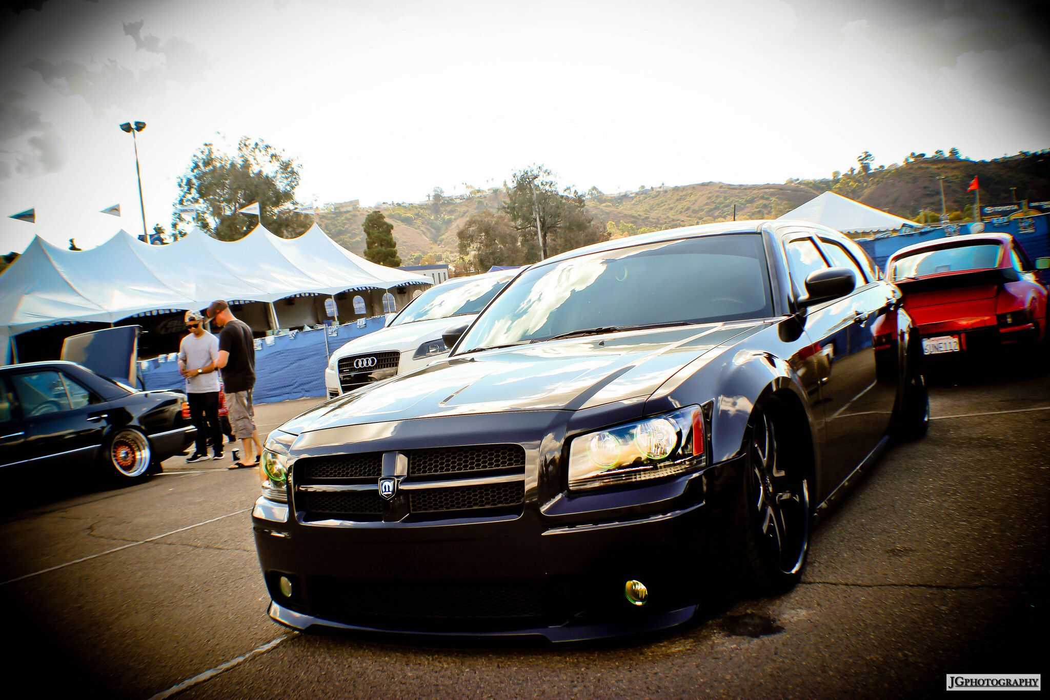 Magnum with a charger front end