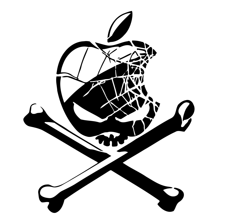 Apple Skull Logo
