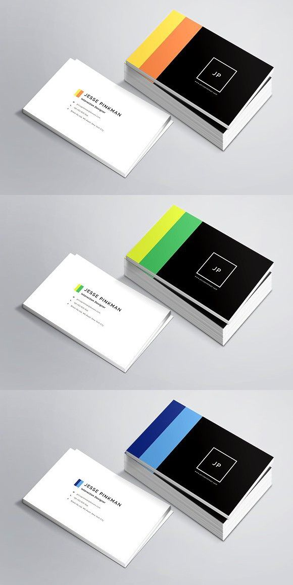 Personal Business Card Template. Business Card Templates