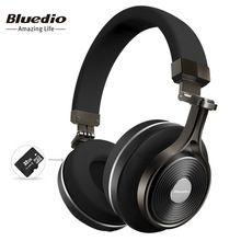 Bluedio T3 Plus беспроводные наушники наушники с микрофоном слот